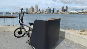 Custom rickshaw pedicabs in San Diego VIP Custom Cycles