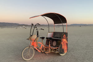 Festival Pedicab - VIP Custom Cycles