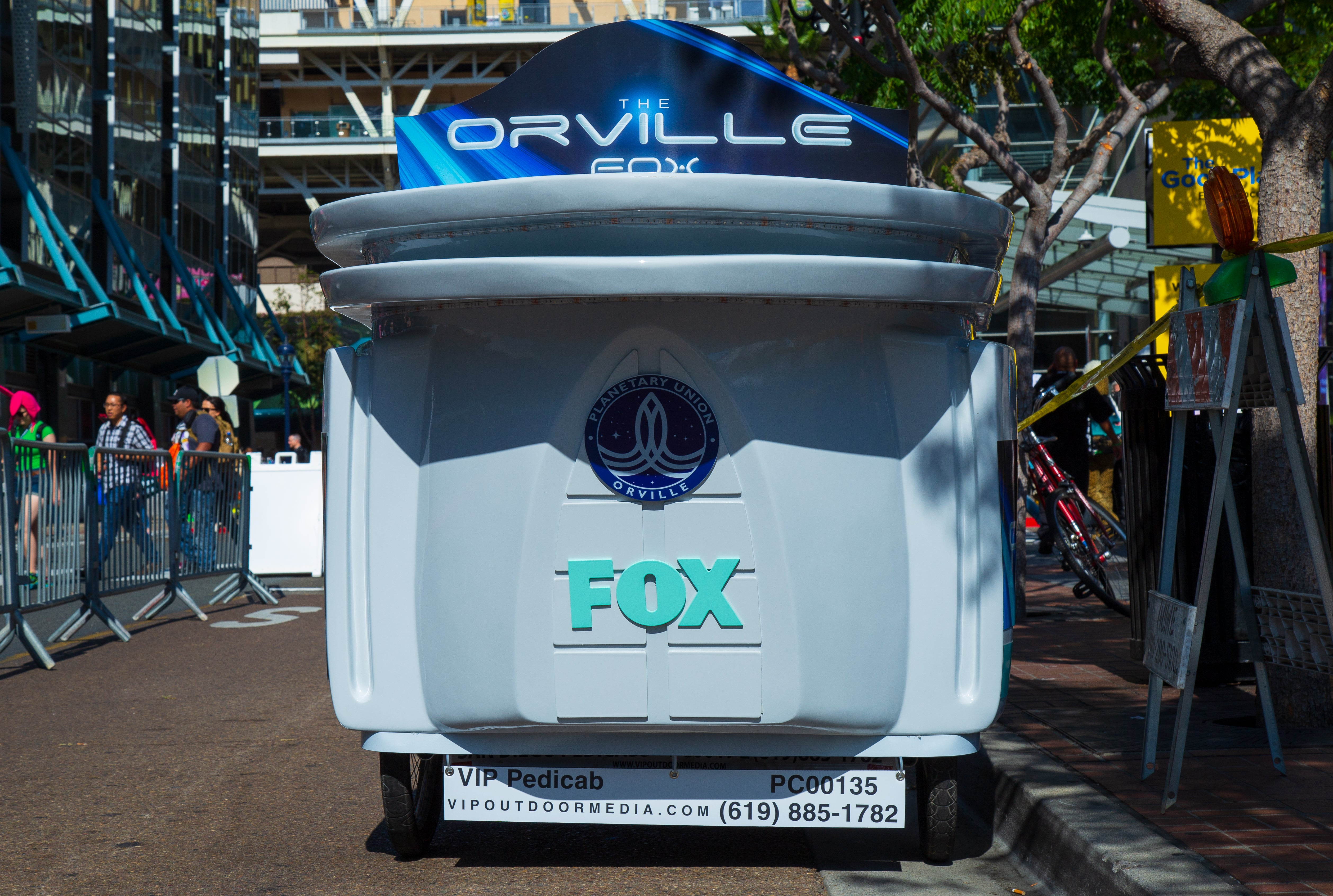 The Orville Pedicab - VIP Custom Cycles