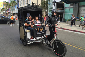 One Upon a Time Pedicabs - VIP Custom Cycles