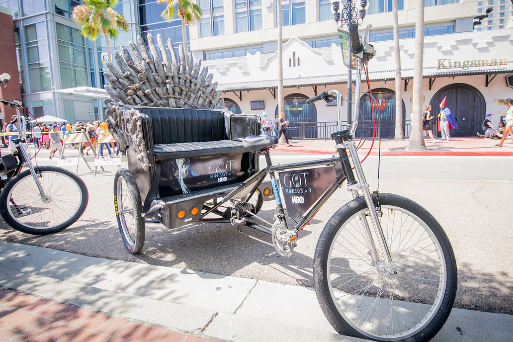 Game of Thrones Pedicab - VIP Custom Cycles