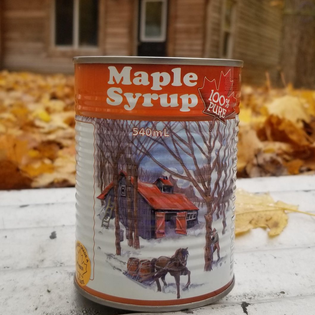 540ml Syrup Can