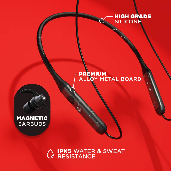 boAt Rockerz 335 Wireless Neckband with ASAP Charge, Up to 30H Playback