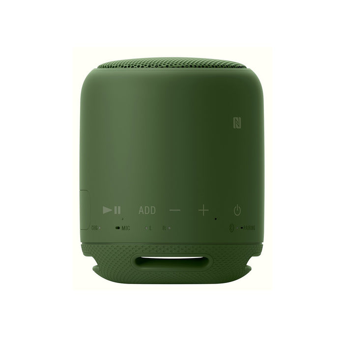Sony SRS-XB10 EXTRA BASS Portable Splash-proof Wireless Speaker with Bluetooth and NFC (Green)