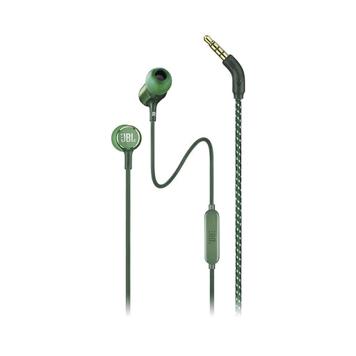 JBL Live 100 in-Ear Headphones with in-Line Microphone and Remote (Green)