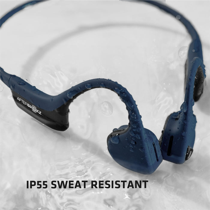 AfterShokz - AS650 Trekz Air Wireless Bone Conduction Headphone (Blue)