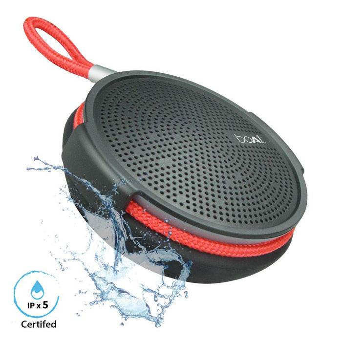 boAt Stone 230 Wireless Bluetooth Speaker with Integrated Controls (Charcoal Black)