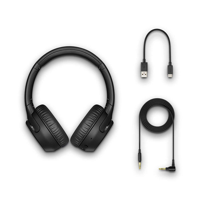 Sony WH-XB700 Wireless Bluetooth Extra Bass Headphones with 30 Hours Battery Life (Black)