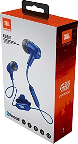 JBL E25BT Signature Sound Wireless in-Ear Headphones with Mic (Blue)