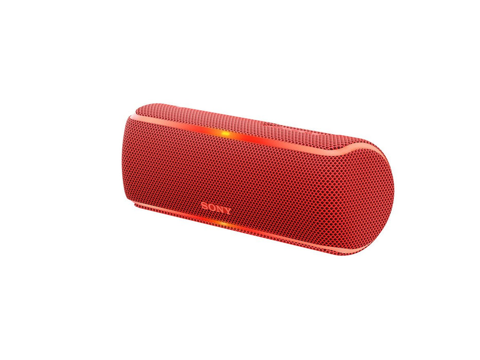 Sony SRS-XB31 Extra Bass Portable Waterproof Wireless Speaker with Bluetooth and NFC (Red)