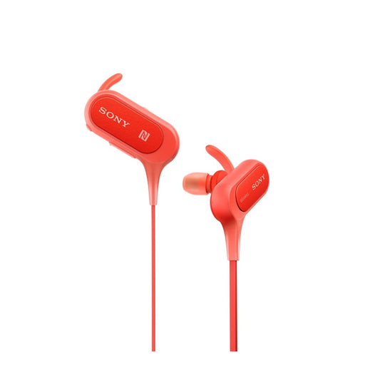 Sony MDR-XB50BS EXTRA BASS Sports Wireless In-ear Headphones (Red)