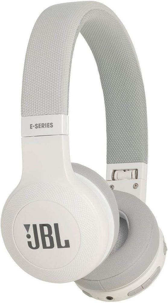 JBL E45BT Signature Sound Wireless On-Ear Headphones with Mic (White)