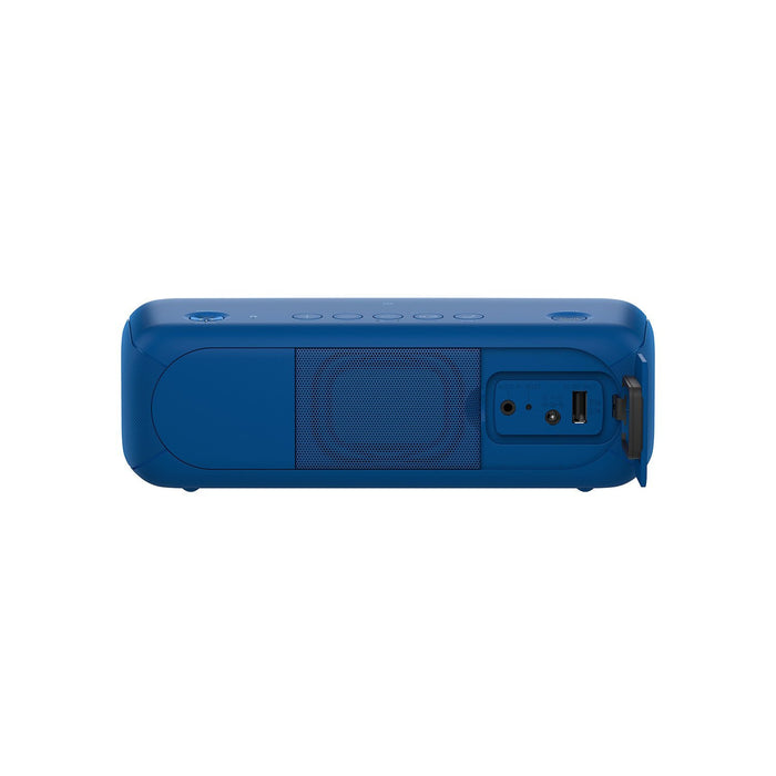Sony SRS-XB30/LC-IN5 Portable Bluetooth Speakers (Blue)