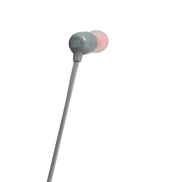 JBL Tune 110BT Pure Bass Wireless in-Ear Headphones with Mic (Grey)