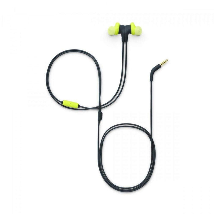 JBL Endurance Run Sweat-Proof Sports in-Ear Headphones with One-Button Remote and Microphone (Yellow)
