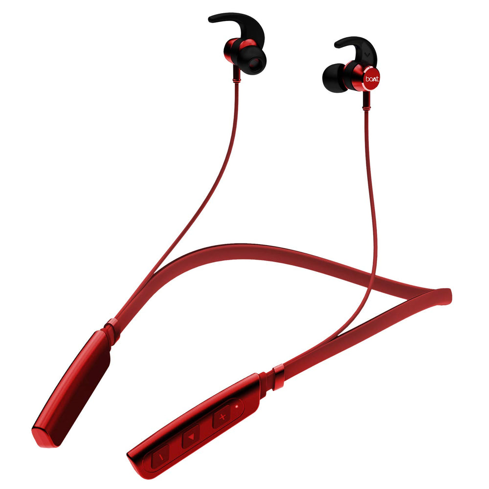 boAt Rockerz 235V2 Wireless Headset  (Red)