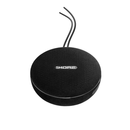 1MORE Portable Bluetooth Speaker with IPX4, 12 Hours Playtime, Mono/Stereo Modes, 35W Output, 1 Plane Woofer + 1 Tweeter, Hands Free Calls - Black