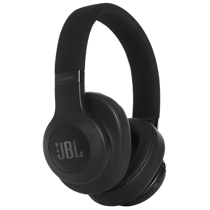 JBL E55BT Signature Sound Wireless Over-Ear Headphones with Mic (Black)