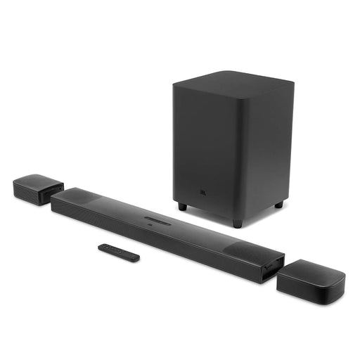 JBL BAR 9.1 True Wireless Surround Soundbar with Dolby Atmos®, Ultra HD4K Pass Through & Built-in WiFi (820 Watts, Black)