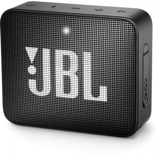 JBL Go 2 Portable Waterproof Bluetooth Speaker with mic (Black)