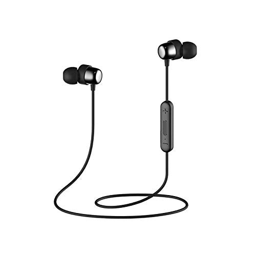 HAVIT Bluetooth Headphones 5.0, IPX5 Sweatproof Stereo Sound (i39, Black)
