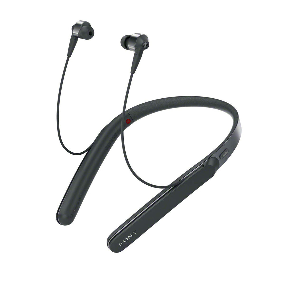 Sony WI-1000X Noise Cancelling Headphones with Bluetooth & Neckband (Black)