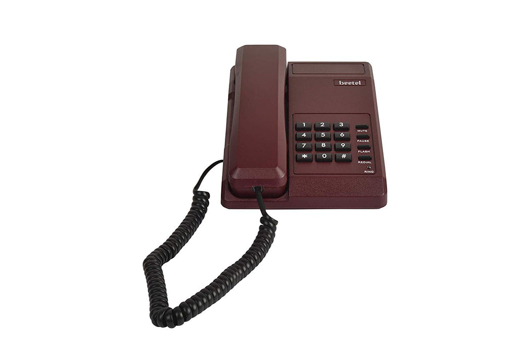 Beetel B11 Basic Corded Phone Red