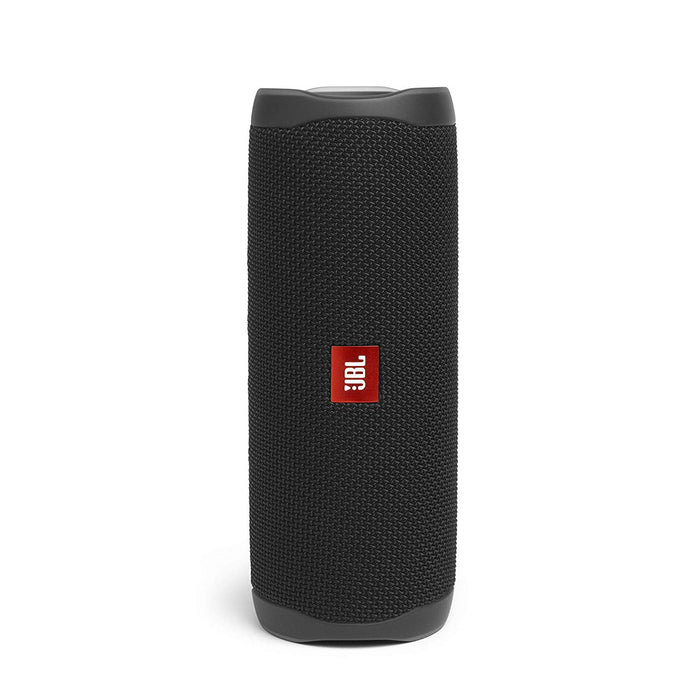 JBL Flip 5 20 W IPX7 Waterproof Bluetooth Speaker with PartyBoost (Without Mic, Black)