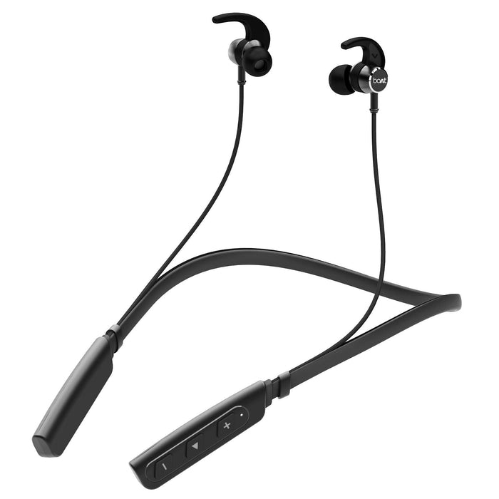 boAt Rockerz 235V2 Wireless Headset  (Black)