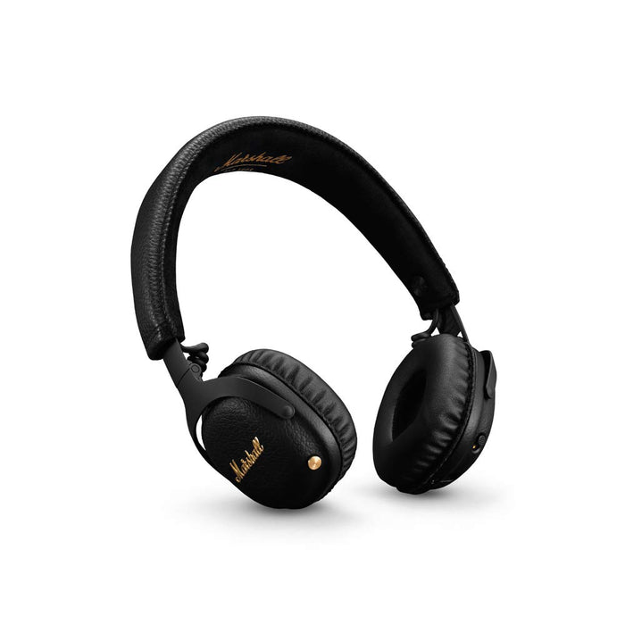 Marshall Mid ANC 04092138 Active Noise Cancelling On-Ear Wireless Bluetooth Headphone (Black)