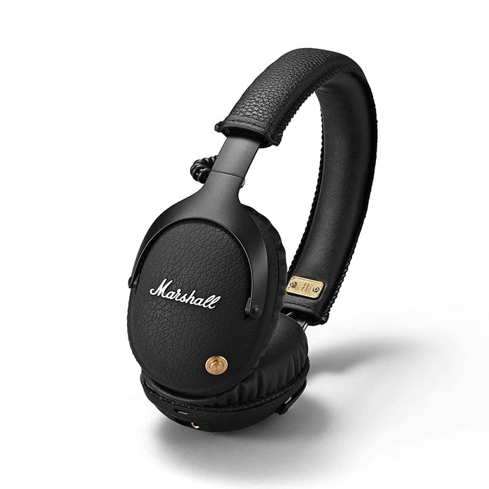 Marshall Monitor Bluetooth Wireless Over-Ear Headphone (Black)