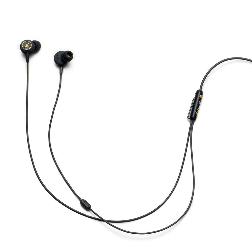 Marshall Mode EQ in-Ear Headphones (Black/Brass)