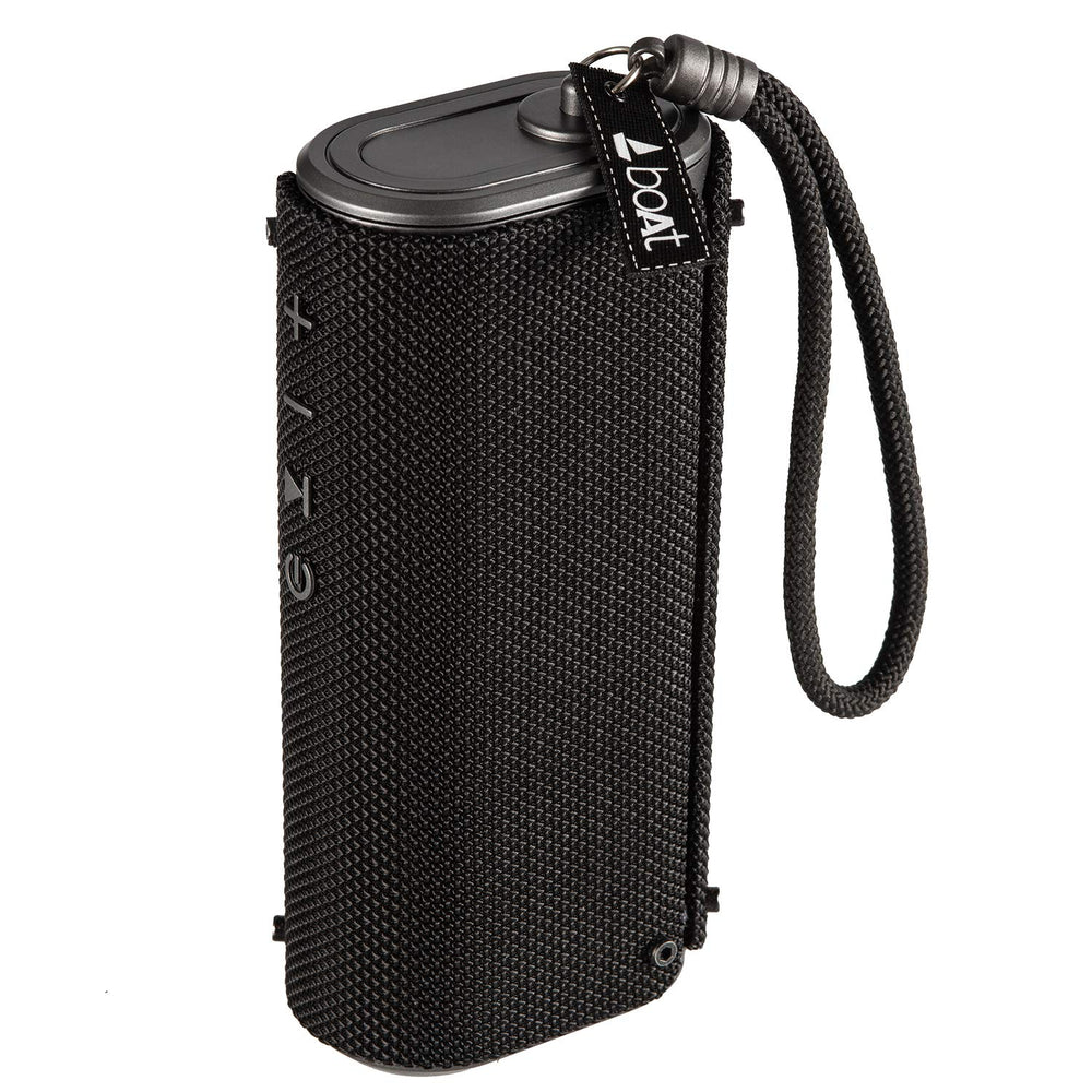 boAt Stone Grenade XL Portable Bluetooth Speakers (Charcoal Black)