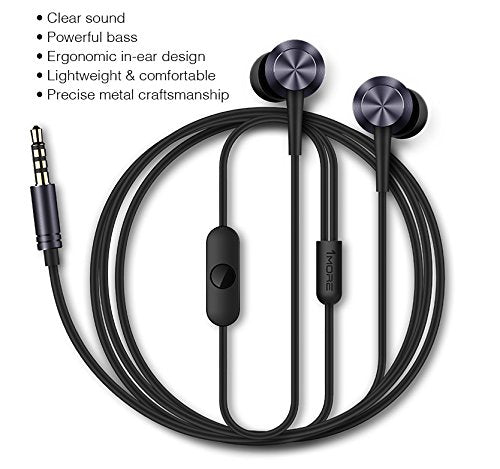 1MORE Piston Fit Earphones with MIC-Grey