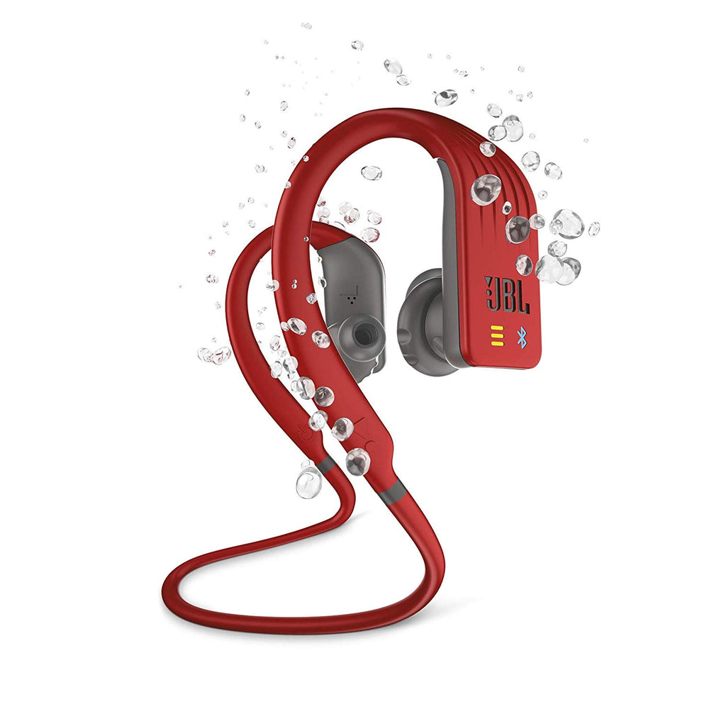 JBL Endurance Dive Waterproof Wireless in-Ear Sport Headphones with Built-in Mp3 Player (Red)