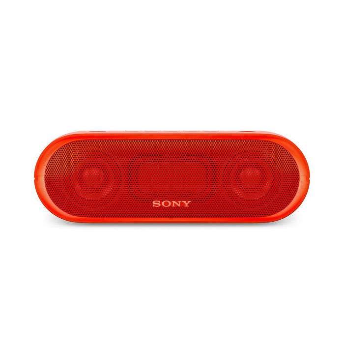 Sony SRS-XB20 Portable Bluetooth Speakers (Red)