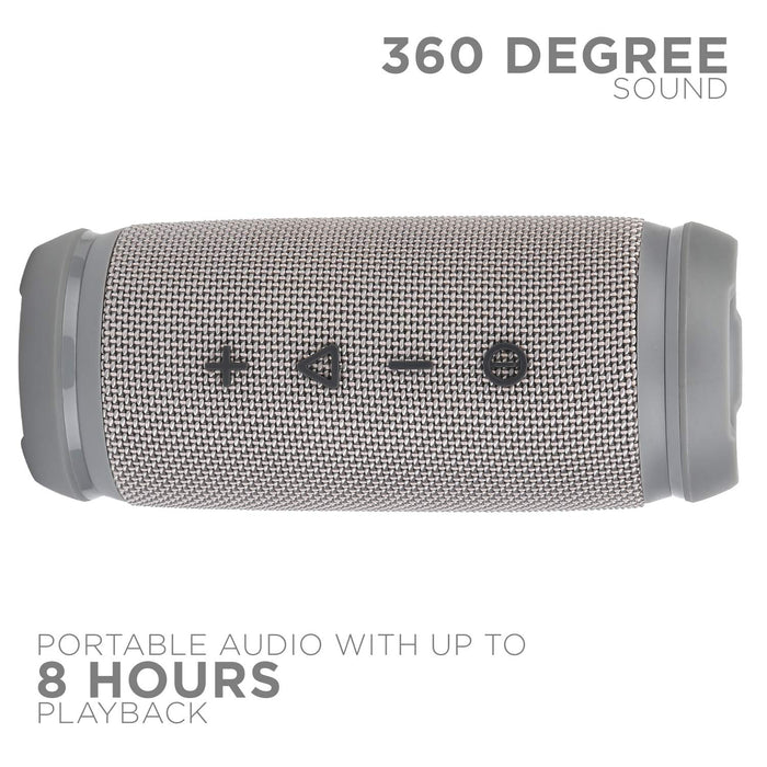 boAt Stone SpinX 2.0 Portable Wireless Speaker with Extra bass (Granite Grey)
