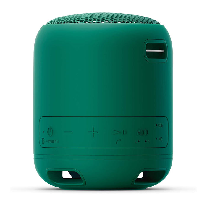 Sony SRS-XB12 Wireless Extra Bass Bluetooth Speaker with 16 Hours Battery Life (Green)