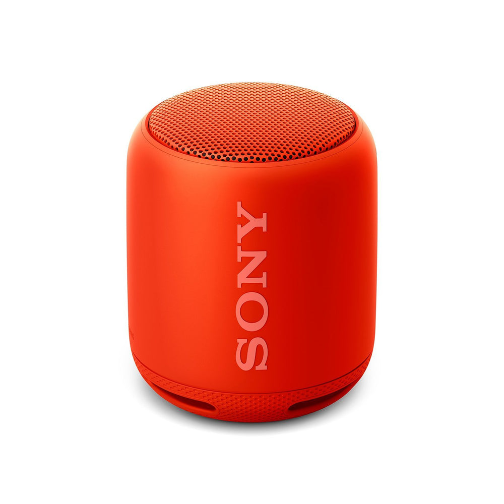 Sony SRS-XB10 EXTRA BASS Portable Splash-proof Wireless Speaker with Bluetooth and NFC (Red)