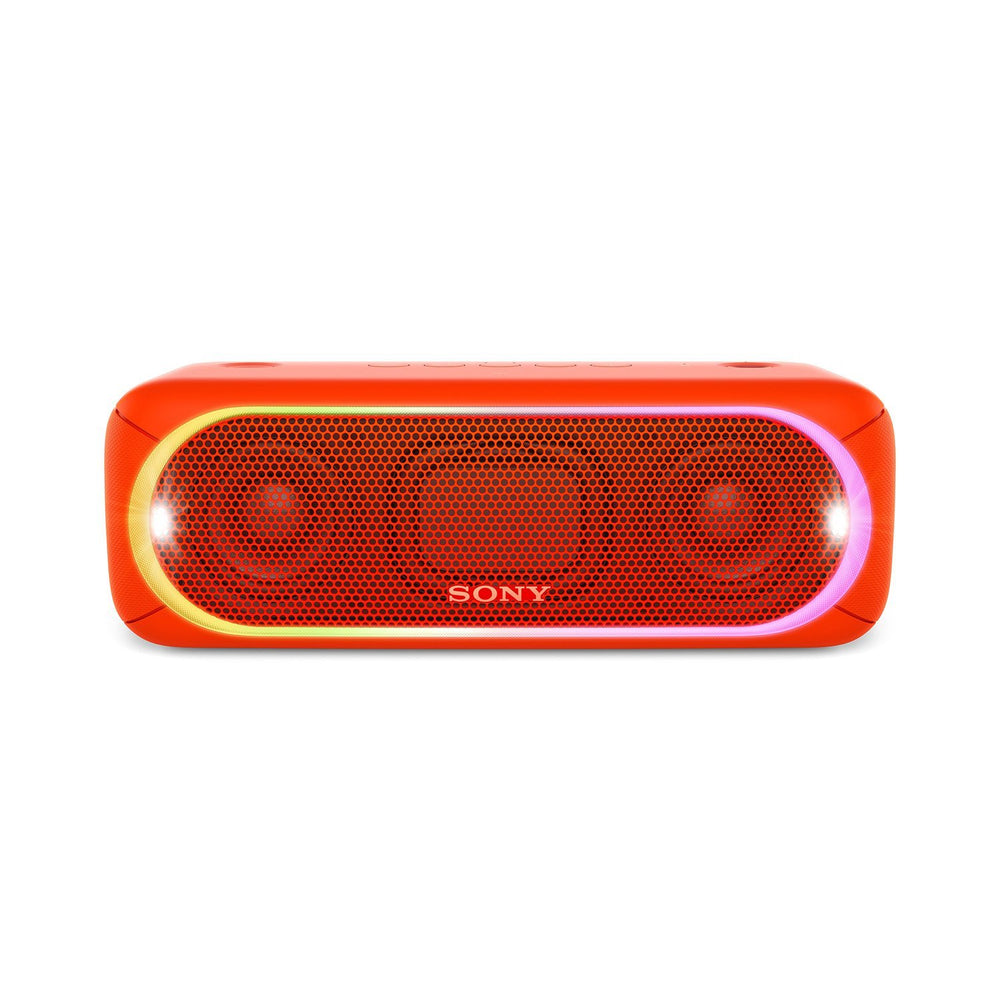 Sony SRS-XB30 Portable Bluetooth Speakers (Red)