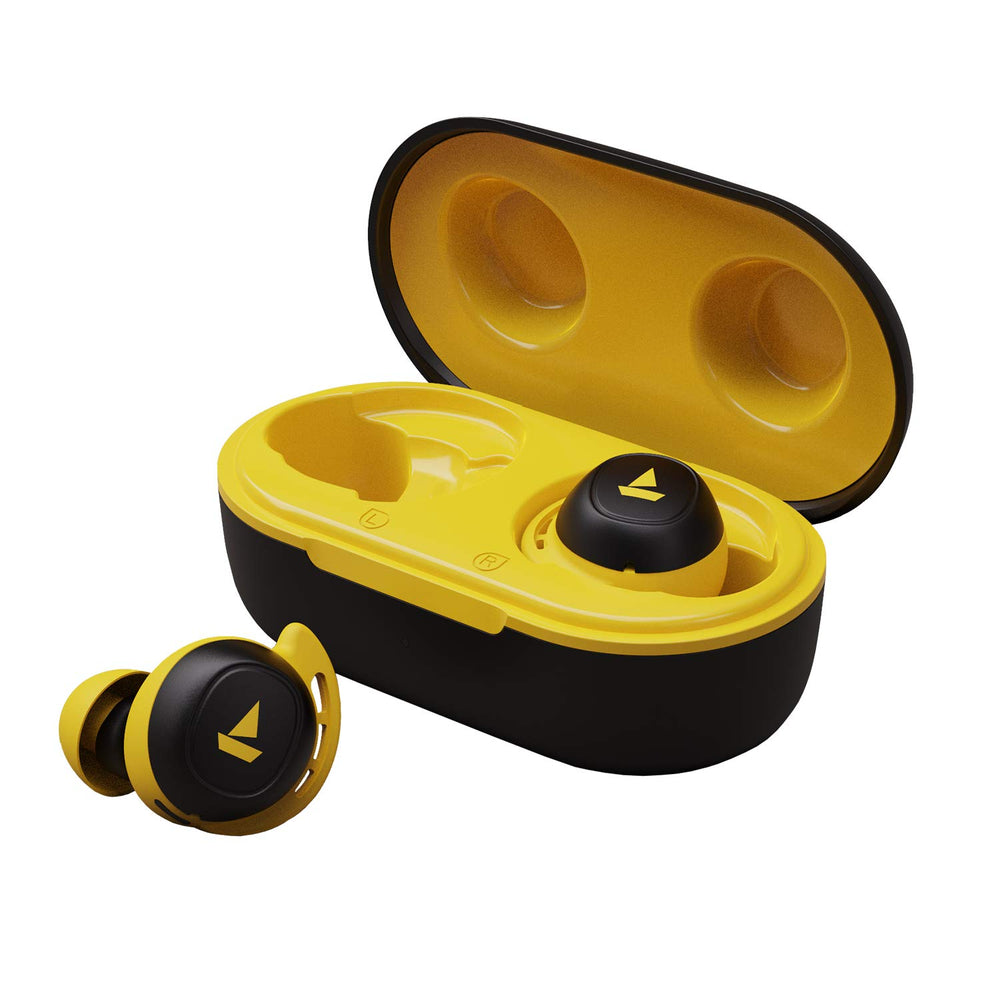 boAt Airdopes 441 TWS Ear-Buds with IWP Technology (YELLOW)