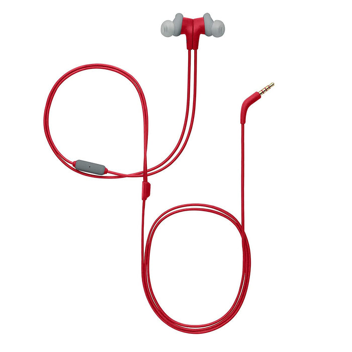 JBL Endurance Run Sweat-Proof Sports in-Ear Headphones with One-Button Remote and Microphone (Red)