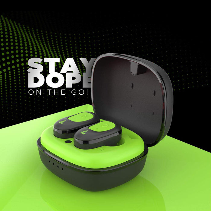 boAt Airdopes 201 True Wireless Earbuds with Up to 15H Total Playback (Active Green)