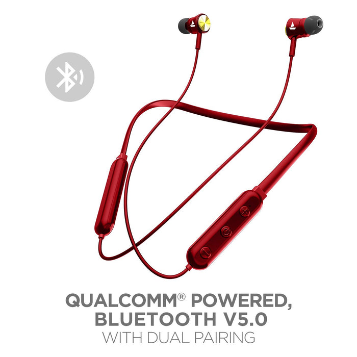 boAt Rockerz 270V2 Wireless Headset with Bluetooth (Red)