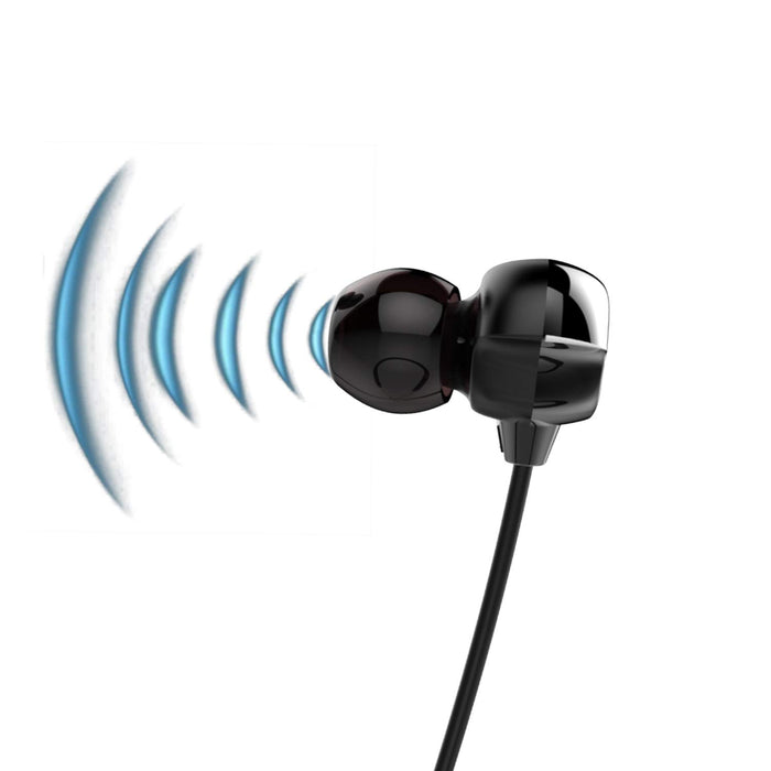 Boat Rockerz 325 Wireless Flexible Earphone with Mic - (Onyx Black)