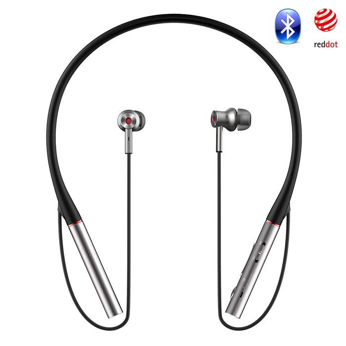 1MORE Dual Driver Active Noise Cancellation Bluetooth Earphone - Silver