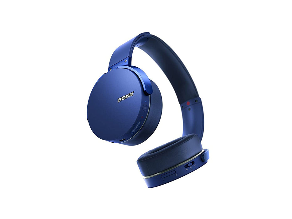 Sony MDR-XB950B1 On-Ear Wireless Premium Extra BASS Headphones (Blue)