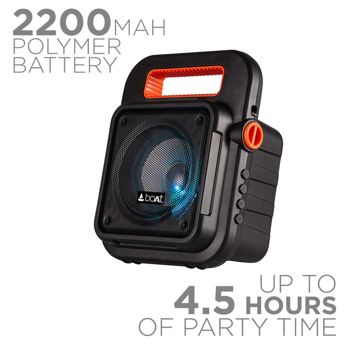boAt PartyPal 20 Wireless Party Speaker (Black)