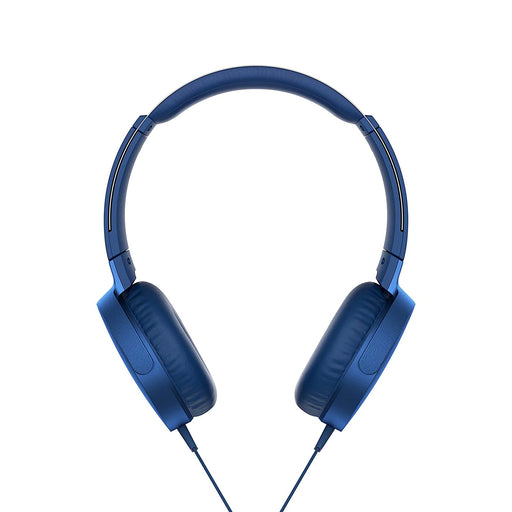Sony MDR- XB550AP Extra Bass On-Ear Headphone, BLUE