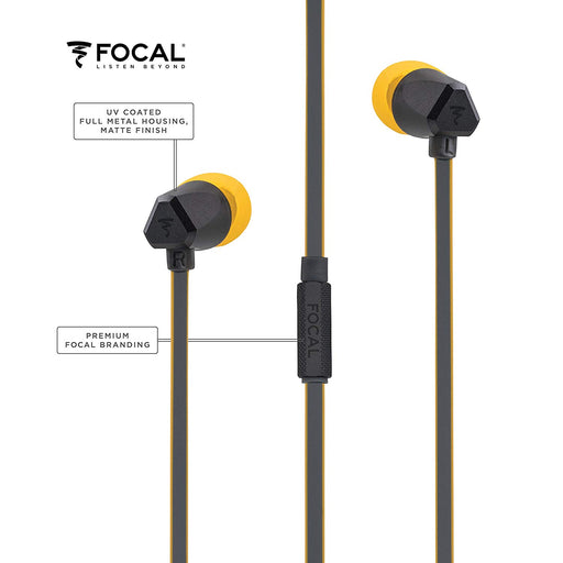 Focal Sense InEar Earphone (Yellow)